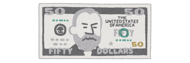 50ドル札