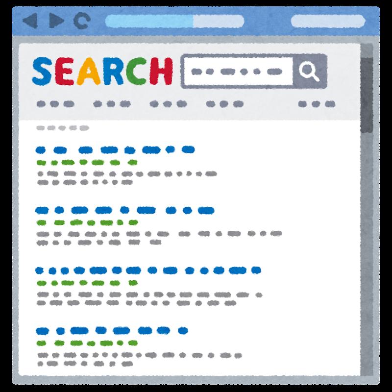 インターネット検索結果