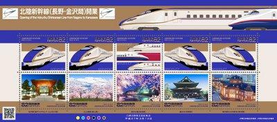 北陸新幹線(長野・金沢間)開業