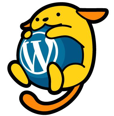 WordPressロゴ「わぷー」